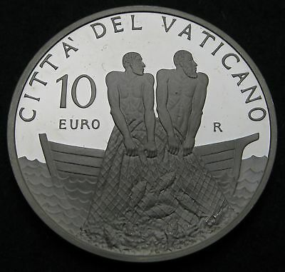 VATICAN 10 Euro 2011 R Proof - Silver - Priestly Ordination - 2757