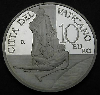 VATICAN 10 Euro 2012 R Proof - Silver - 20th World Day of the Sick - 2758
