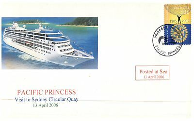 Cruise ship cover - Pacific Princess visit to Sydney / 2006 (1 of 10)