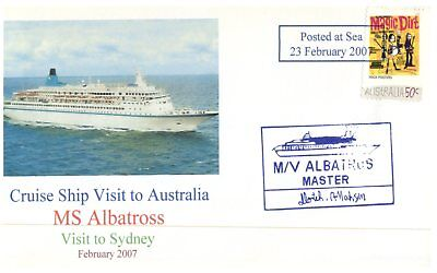 Cruise ship cover - MS Albatross visit to Sydney / 2007 (2 of 10)