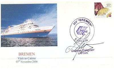 Cruise ship cover - MV Bremen visit to Cairns / 2006 (10 of 10)