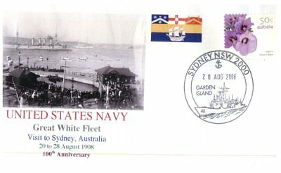 Navy covers - Great White Fleet Centenary - Visit to Australia (7 covers)