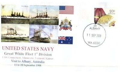 Navy covers - Great White Fleet Visit Centenary - Albany WA (5 covers)