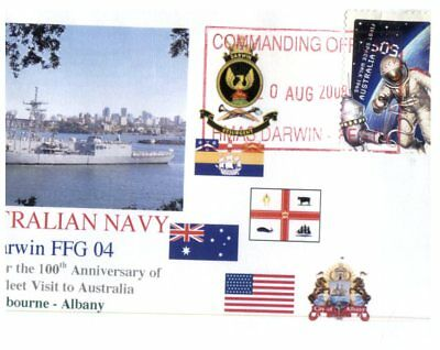 Navy covers - Great White Fleet Visit Centenary - 3 covers (escort ships)