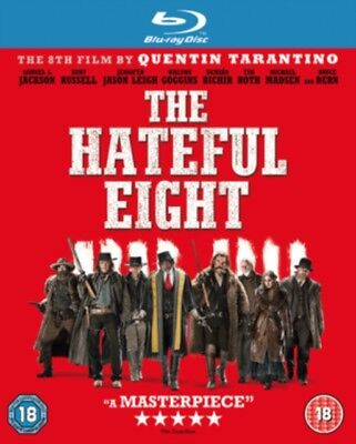 The Hateful Eight Nuevo Blu-Ray (Ebr5264)