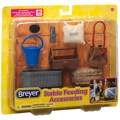 Breyer 61075 Stable Feeding Accessories - Classic Scale - NO HORSE INC