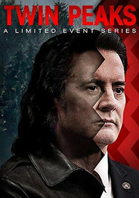 New, Factory Sealed TWIN PEAKS: Limited Event Series, 8 DVD Set (2017, D Lynch)