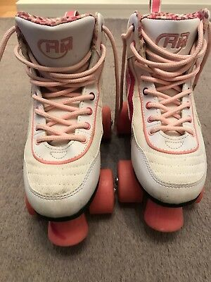 Girls SFR Rollerskates. Size 3. With Carry Bag
