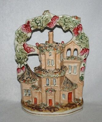 "Antique Staffordshire Victorian Home 9 1/4"" Figure"
