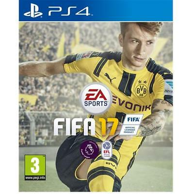 Fifa 17 PS4 Game for Sony PlayStation 4 Football Soccer NEW