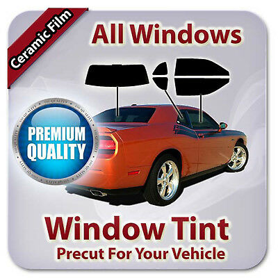 Precut Ceramic Window Tint For Ford F-250 Extended Cab 1990-1996 (All Windows CE