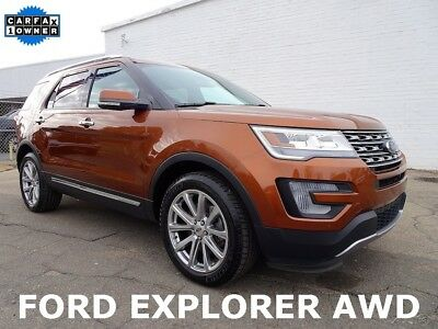 2017 Ford Explorer Limited 2017 Ford Explorer Limited SUV Used 3.5L V6 24V Automatic AWD
