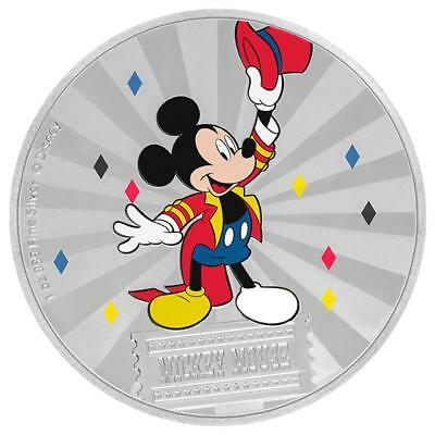 Niue - 2 Dollar 2019 - Mickey Mouse™ - Mickey & Friends Carnival 1 Oz Silber PP