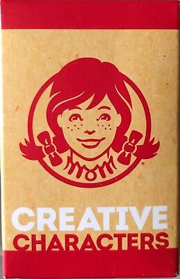 🐞 WENDY'S Kids Meal CREATIVE CHARACTERS Toy #1/ Stocking Stuffer Astronaut