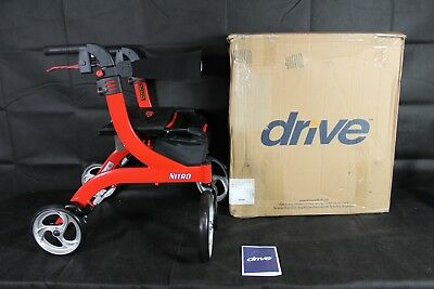 Drive Medical RTL10266-H Nitro Euro Style Walker Rollator