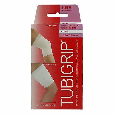 Tubigrip size - G 0.5 Metre Natural Elasticated Tubular Support Bandage