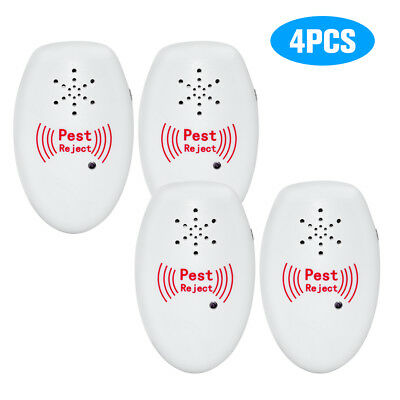 Portable Intelligent Electronic Ultrasonic Mosquito Insect Repellent Pest R2B3