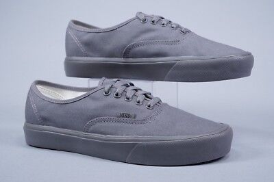 9a84a498fac Vans Authentic Ultracush Lite Gargoyle Grey Mono Skate Shoes ~ Us Men S  Size 9.0