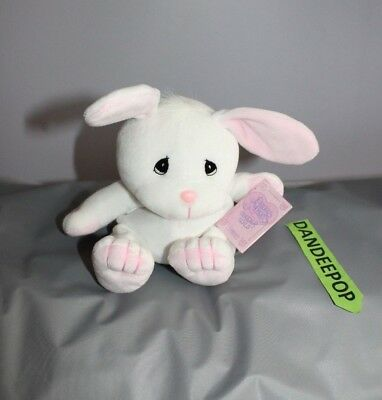 Enesco Tender Tails Rabbit Stuffed Animal 382345 With Tag