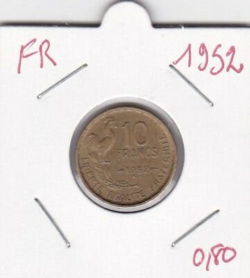 France 10 Francs 1952 - type Guiraud