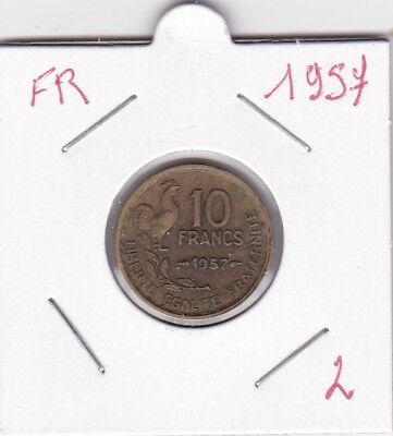 France 10 Francs 1957 - type Guiraud