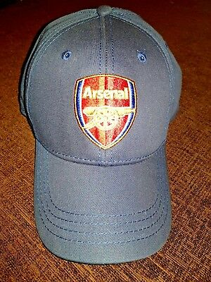de5aab672ff Arsenal Cap Blue Baseball Hat Gift Official Licensed Football Product Navy