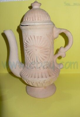 curio art and vintage Broken Like my life a jug of Pottery made in morocco