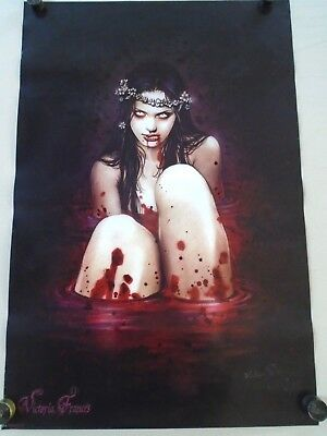 BLOOD BATH #pp34180 - Fantasy art - Original poster in new cond. / 24 x 36""
