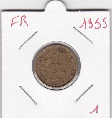 France 10 Francs 1955 - type Guiraud