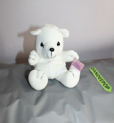 Enesco Tender Tails Polar Bear Stuffed Animal 382027 With Tag