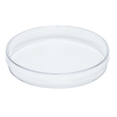 Karter Scientific 206D2 Plastic Petri Dishes, 60 mm x 15 mm, 3 Vents, Sterile of
