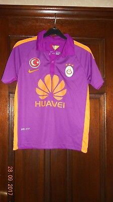 Boys Football Shirt - Galatasaray - Height 176Cm - 3Rd 2014/15 - Nike - Purple