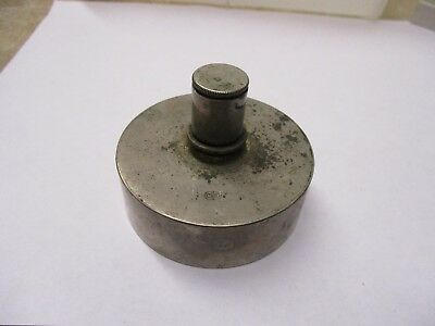 Old nickel plated Brass Alcohol Burner stamped C & B