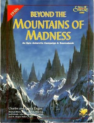 Chaosium Call of Cthulhu Beyond the Mountains of Madness SC VG+
