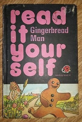 Ladybird Book - Read It Yourself - Gingerbread Man - Series 777