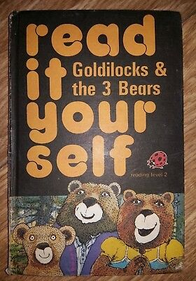 Ladybird Book - Read It Yourself - Goldilock & the 3 Bears - Series 777
