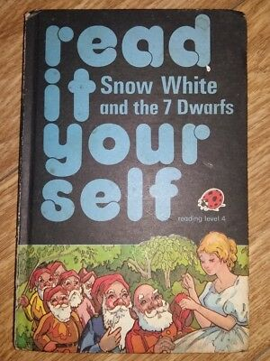 Ladybird Book - Read It Yourself - Snow White & the 7 Dwarfs - Series 777