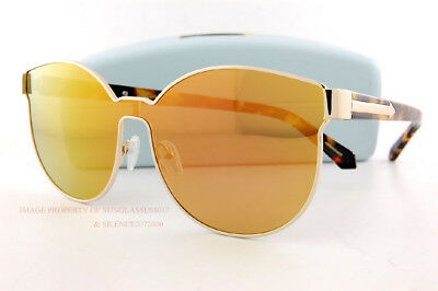 bdb9c1713ff7 Brand New KAREN WALKER Sunglasses Star Sailor Gold Pink Mirror 1701538 Women