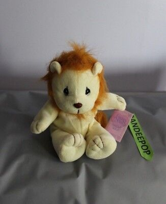 Enesco Tender Tails Lion Stuffed Animal 358266 With Tag