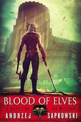 NEW Blood of Elves By Andrzej Sapkowski Paperback Free Shipping