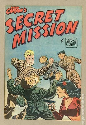 Steve Canyon's Secret Mission Giveaway #0 1951 VF/NM 9.0