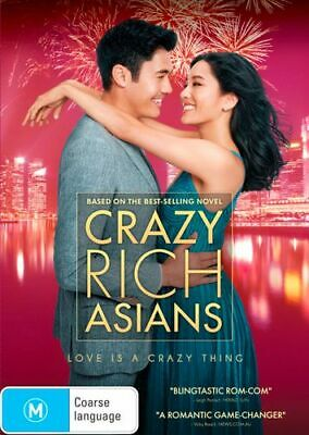 NEW Crazy Rich Asians DVD Free Shipping