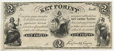 Hungary Currency Note - Ket 2 Forint - Hungarian Paper Money AZ110