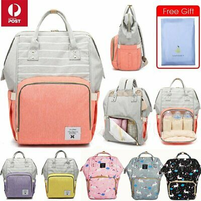 New Multifunctional Baby Diaper Nappy Backpack Waterproof Mummy Changing Bag