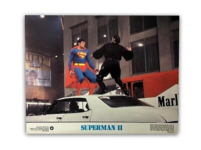 """""""superman Ii"""" Original 11X14 Authentic Lobby Card Poster Photo 1980 #4 Reeve"""