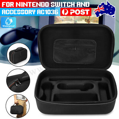 Hard Protective Carry Case Zipper Bag For Nintendo Switch & Accessory