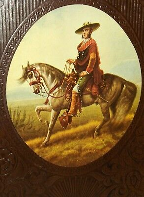 """The Spanish West"" From The Old West Time Life Books - Leather Bound ( L59"