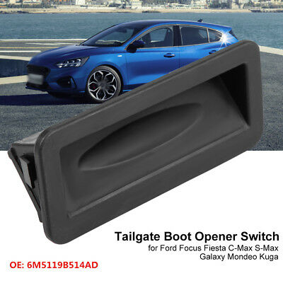 Tailgate Boot Opener Switch for Ford Focus Fiesta C-Max S-Max Galaxy Mondeo Kuga