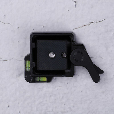 Clamp & quick release qr plate for tripod monopod ball head camera JG