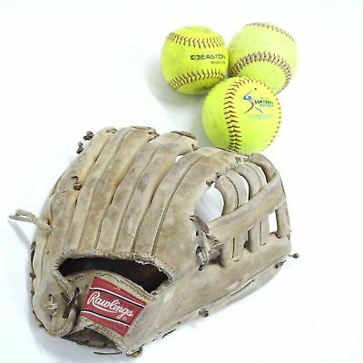 Rawlings The American Series Leather Right Handed HPG-12 Softball Glove #209